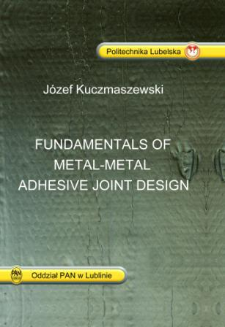 Fundamentals of metal-metal adhesive joint design