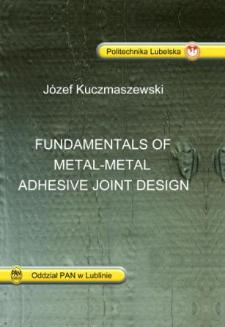 Fundamentals of metal-metal adhesive joint design
