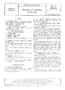 Barwniki bezpośrednie - Barwienie porównawcze BN-88/6041-42