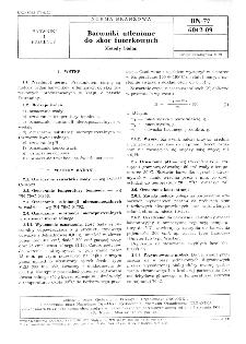 Barwniki utleniane do skór futerkowych - Metody badań BN-77/6042-09
