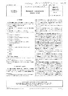 Barwniki spożywcze - Metody badań BN-70/6043-01