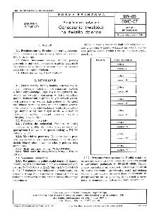 Rozjaśniacze optyczne - Oznaczanie trwałości na światło dzienne BN-86/6045-07