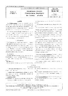 Rozjaśniacze optyczne - Oznaczanie trwałości na kwasy i alkalia BN-80/6045-15