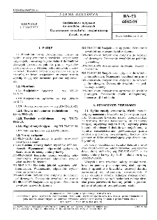Rozjaśniacze optyczne do środków piorących - Oznaczanie trwałości rozjaśniaczy - Zasady ogólne BN-73/6045-2