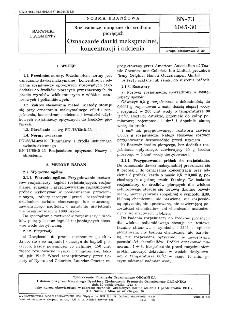 Rozjaśniacze optyczne do środków piorących - Oznaczanie dawki maksymalnej, koncentracji i odcienia BN-73/6045-30