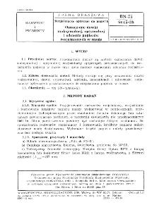 Rozjaśnianie optyczne do papieru - Oznaczanie dawki maksymalnej, optymalnej i odcienia papierów rozjaśnionych w masie BN-75/6045-38
