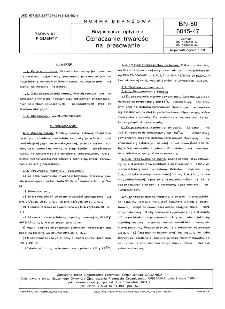 Rozjaśniacze optyczne - Oznaczanie trwałości na prasowanie BN-80/6045-47