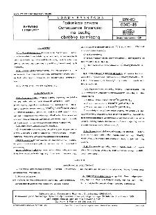 Rozjaśniacze optyczne - Oznaczanie trwałości na suchą obróbkę termiczną BN-80/6045-48