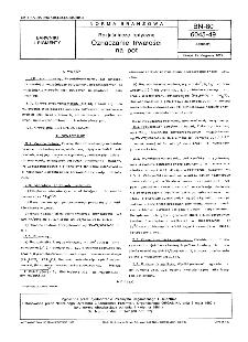 Rozjaśniacze optyczne - Oznaczanie trwałości na pot BN-80/6045-49