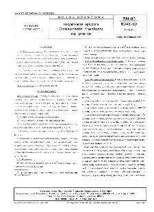Rozjaśniacze optyczne - Oznaczanie trwałości na pranie BN-80/6045-50