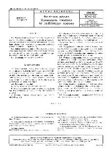 Rozjaśniacze optyczne - Oznaczanie trwałości na podsiarczyn sodowy BN-80/6045-53