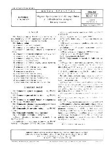 Pigmenty organiczne do wyrobów z poli (clorku winylu) - Metody badań BN-89/6047-13