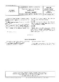 Pigmenty organiczne do farb graficznych - Metody badań - Postanowienia ogólne i zakres normy BN-90/6047-14/01