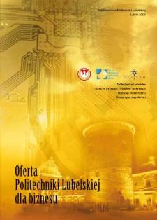 Oferta Politechniki Lubelskiej dla biznesu