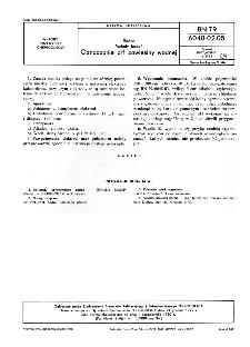 Sadza - Metody badań - Oznaczanie pH zawiesiny wodnej BN-79/6048-02-05