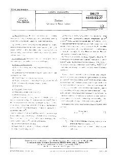Sadza - Metody badań - Oznaczanie liczby jodowej BN-79/6048-02-07