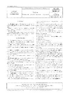 Sadza - Pakowanie, przechowanie i transport BN-89/6048-04