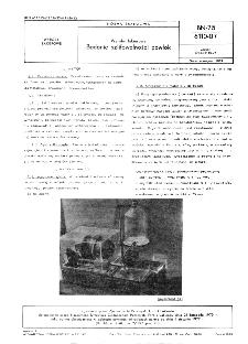 Wyroby lakierowe - Badanie szlifowalności powłok BN-75/6110-07