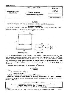 Wyroby lakierowe - Oznaczanie gęstości BN-64/6110-11