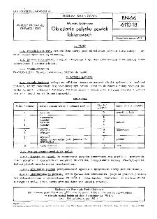 Wyroby lakierowe - Określanie połysku powłok lakierowych BN-66/6110-18