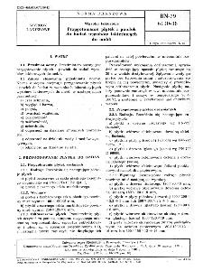 Wyroby lakierowe - Przygotowanie płytek i powłok do badań wyrobów lakierowych do mebli BN-79/6110-36