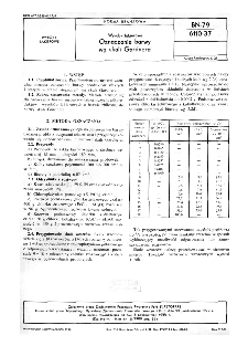 Wyroby lakierowe - Oznaczanie barwy wg skali Gardnera BN-79/6110-37