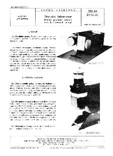 Wyroby lakierowe - Pomiar grubości powłok metodą skośnych nacięć BN-84/611-40