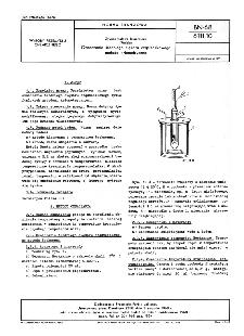Żywice ftalowe lakiernicze (Ftalaki) - Oznaczanie średniego ciężaru cząsteczkowego metodą kriometryczną BN-68/6111-10