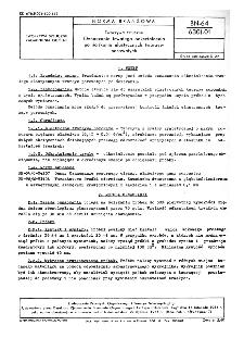 Tworzywa sztuczne - Oznaczanie trwałego odkształcenia po ściskaniu elastycznych tworzyw porowatych BN-64/6301-01