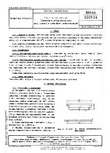 Folie z tworzyw sztucznych - Oznaczanie przepuszczalności pary wodnej w warunkach umiarkowanych BN-66/6301-04