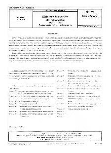 Materiały tapicerskie dla motoryzacji - Metody badań - Postanowienia ogólne i zakres normy BN-79/6390-01-00