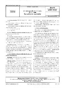 Materiały tapicerskie dla motoryzacji - Metody badań - Sprawdzanie wymiarów BN-79/6390-01-02