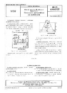 Materiały tapicerskie dla motoryzacji - Metody badań - Oznaczanie wytrzymałości na rozdzieranie BN-79/6390-01-05