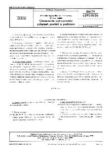 Materiały tapicerskie dla motoryzacji - Metody badań - Oznaczanie wytrzymałości połączeń powłoki z podłożem BN-79/6390-01-06