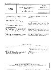 Materiały tapicerskie dla motoryzacji - Metody badań - Oznaczanie przylepności powłoki w podwyższonej temperaturze BN-79/6390-01-08
