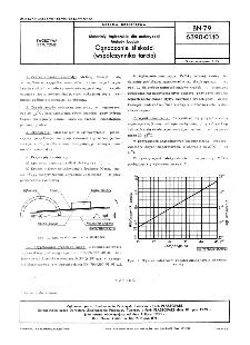 Materiały tapicerskie dla motoryzacji - Metody badań - Oznaczanie śliskości (współczynnika tarcia) BN-79/6390-01-10