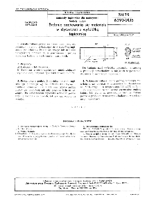 Materiały tapicerskie dla motoryzacji - Metody badań - Badanie zachowania się materiału w styczności z wyściółką tapicerską BN-79/6390-01-15