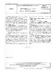 Materiały tapicerskie dla motoryzacji - Metody badań - Pomiar napięcia przebicia BN-79/6390-01-16