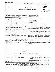 Folia Estrofol - Pakowanie, przechowywanie i transport BN-77/6392-01 Arkusz 03