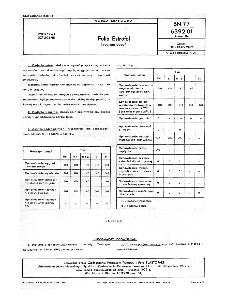 Folia Estrofol - Pakowanie - Program badań BN-77/6392-01 Arkusz 04