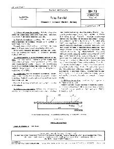 Folia Estrofol - Oznaczanie oporności właściwej skrośnej BN-73/6392-01 Arkusz 09