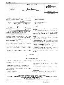 Folia Estrofol - Pakowanie, przechowywanie i transport BN-77/6392-01-03