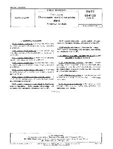 Paliwa gazowe - Oznaczanie siarki i związków siarki - Podstawowe określenia BN-72/0541-03 Arkusz 02
