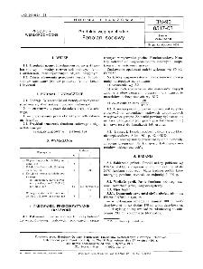 Produkty węglopochodne - Fenolan sodowy BN-90/0517-03