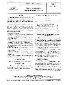 Produkty węglopochodne - Frakcja pirokatechinowa BN-71/0517-10