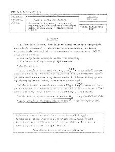 Koks z węgla kamiennego - Oznaczanie degradacji ziarnowej oraz wskaźników wytrzymałościowych koksu bębnowego wtemperaturze 1000 C BN-85/0511-36