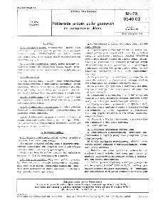 Pobieranie próbek paliw gazowych do oznaczania składu BN-75/0540-02