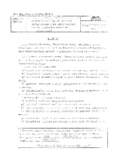 Kontrola analityczna procesu odsiarczania gazu koksowniczego metodą węglowo-próżniową (potasową) BN-89/0511-39