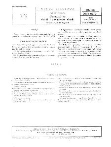 Paliwa gazowe - Oznaczanie siarki i związków siarki - Postanowienia ogólne BN-88/0541-03-01