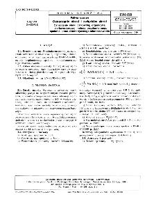 Paliwa gazowe - Oznaczanie siarki i związków siarki - Oznaczanie siarki całkowitej, organicznej i siarkowodorowej metodą bezpłomiennego spalania i konduktometrycznego miareczkowania BN-89/0541-03-03